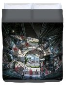 Kaleidoscopic Tokyo Duvet Cover