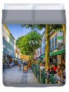 Kalmar Cafes Duvet Cover
