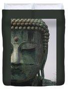 Kamakura Buddha Duvet Cover