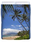 Kamaole Beach Duvet Cover