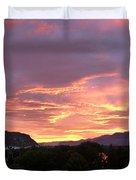 Kamloops Sunset 2 Duvet Cover
