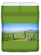Kamuela Pasture Duvet Cover by David Cornwell/First Light Pictures, Inc - Printscapes