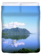 Kaneohe Bay Duvet Cover