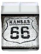 Kansas 66 Duvet Cover