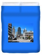 Kansas City Cross Roads Duvet Cover