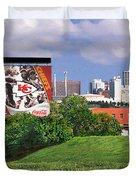 Kansas City Sky Line Duvet Cover