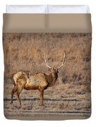 Kansas Elk Duvet Cover