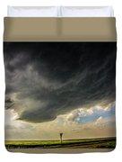 Kansas Storm Chasing 008 Duvet Cover