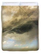 Kansas Storm Chasing 016 Duvet Cover