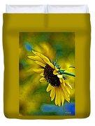 Kansas Sunflower Duvet Cover