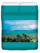 Kapalua Bay Rainbow Duvet Cover
