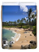 Kapalua Beach Resort Duvet Cover