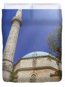 Karadoz Bey Mosque, Mostar, Bosnia And Herzegovina Duvet Cover