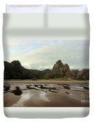 Karekare Beach Duvet Cover