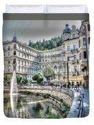 Karlovy Vary Chehia Duvet Cover