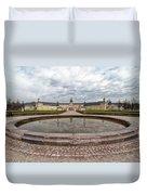 Karlsruhe Palace View Duvet Cover