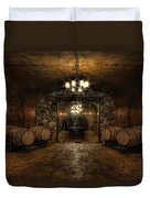 Karma Winery Cave Duvet Cover