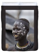 Karo Tribe Female Duvet Cover