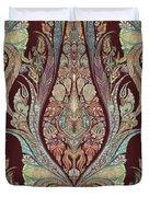 Kashmir Elephants - Vintage Style Patterned Tribal Boho Chic Art Duvet Cover