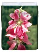 Kashmir Tree Mallow  Duvet Cover