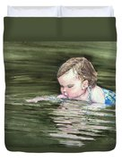 Katie Wants A River Rock Duvet Cover