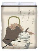 Katsushika Hokusai Duvet Cover