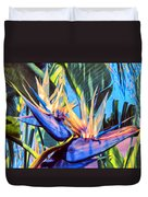 Kauai Bird Of Paradise Duvet Cover