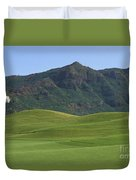 Kauai Marriott Golf Cours Duvet Cover