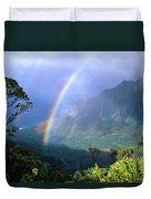 Kauai Rainbow Duvet Cover