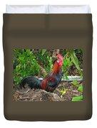 Kauai Rooster Duvet Cover