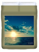 Kauai Sunset Duvet Cover