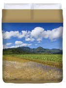 Kauai Wet Taro Farm Duvet Cover
