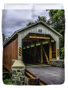 Kaufman Covered Bridge - Pa Duvet Cover