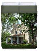 Kaw Mission, Council Grove, Kansas Duvet Cover