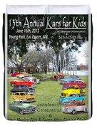 Kawanis Event Poster Duvet Cover
