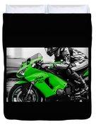 Kawasaki Ninja Zx-6r Duvet Cover