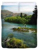 Kawerau River Duvet Cover