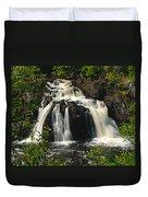 Kawishiwi Falls Duvet Cover