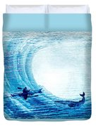 Kayak Passion Duvet Cover