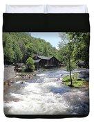 Kayak Practice Waters Duvet Cover