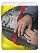 Kayakeer Hands Duvet Cover