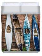 Kayaks 4 Duvet Cover