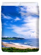 Kealia Beach Duvet Cover