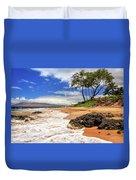 Keawakapu Beach - Mokapu Beach Duvet Cover