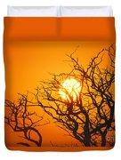 Keawe Tree At Sunset Duvet Cover