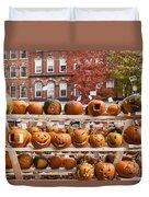 Keene Pumpkin Festival Duvet Cover
