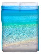 Keep Calm And Listen To The Sea Duvet Cover