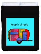 Keep It Simple Duvet Cover