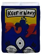 Keep It Wavy Duvet Cover