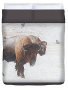 Keep Moving Duvet Cover